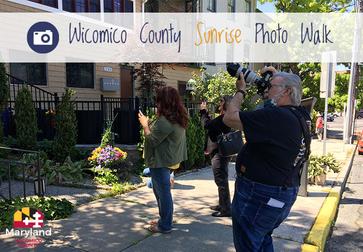 Join Wicomico County for our third photo walk — this time at sunrise