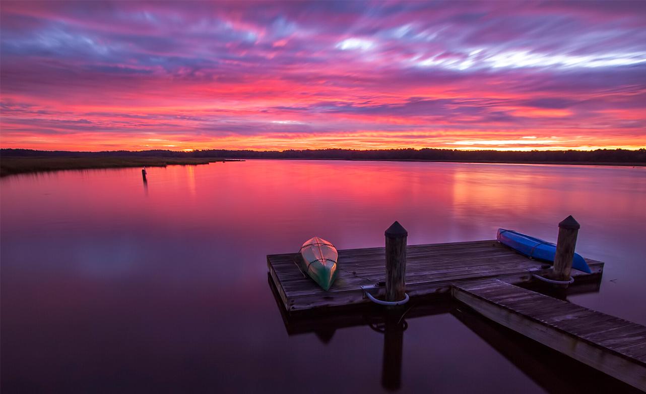 Sunrise at Whitehaven