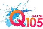 Q105 logo