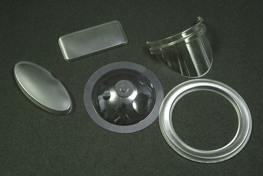 Lexan Polycarbonate Formed Parts