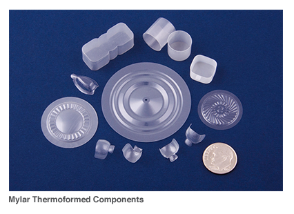 Mylar Thermoformed Components