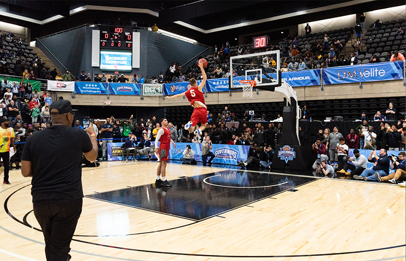 basketball sporting event