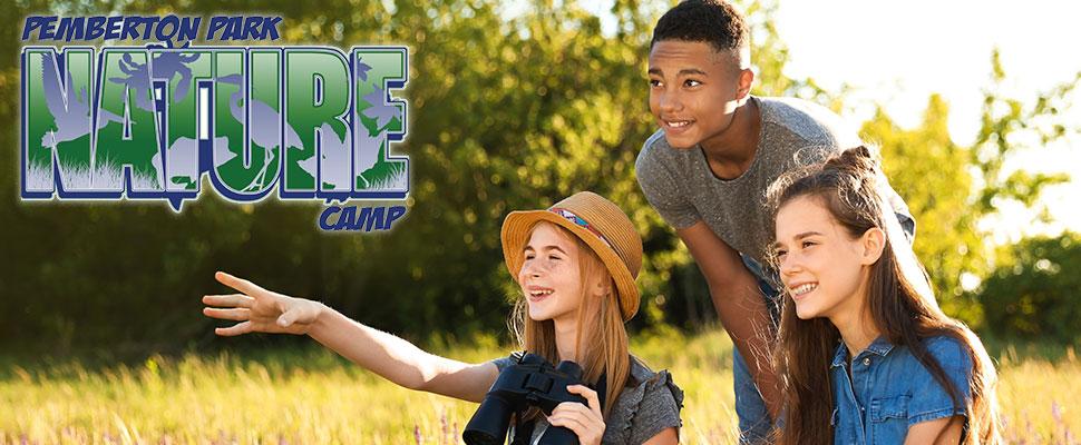 Summer Camp kids enjoying the outdoors