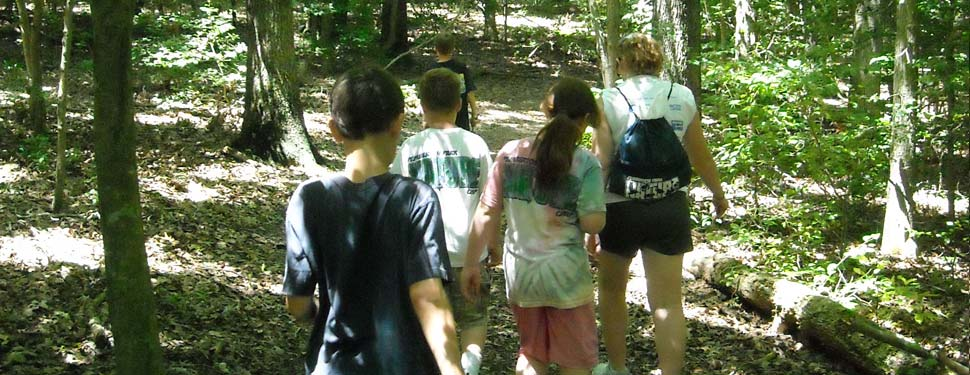 Nature Hikers at Pemberton Park