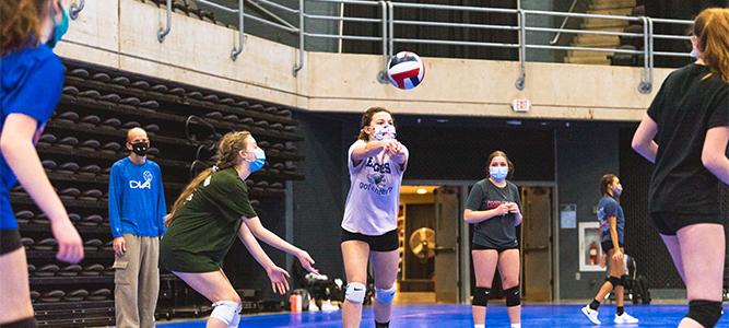 Volleyball - DVA Clinic