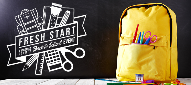 Fresh Start: A Wicomico County Back to School Event