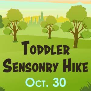 Toddler Sensory Hike