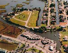 Bayville Marina boat slips for rent, near Fenwick Island, Delaware