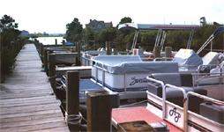 Bayville Marina boat Ramp, near Fenwick Island, Delaware
