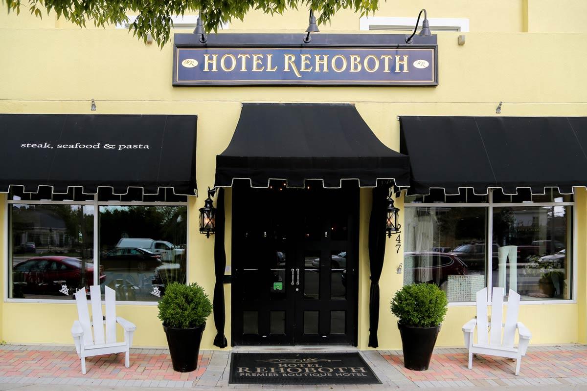 Hotel Rehoboth Rehoboth Ave street entrance