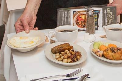 Serving Breakfast