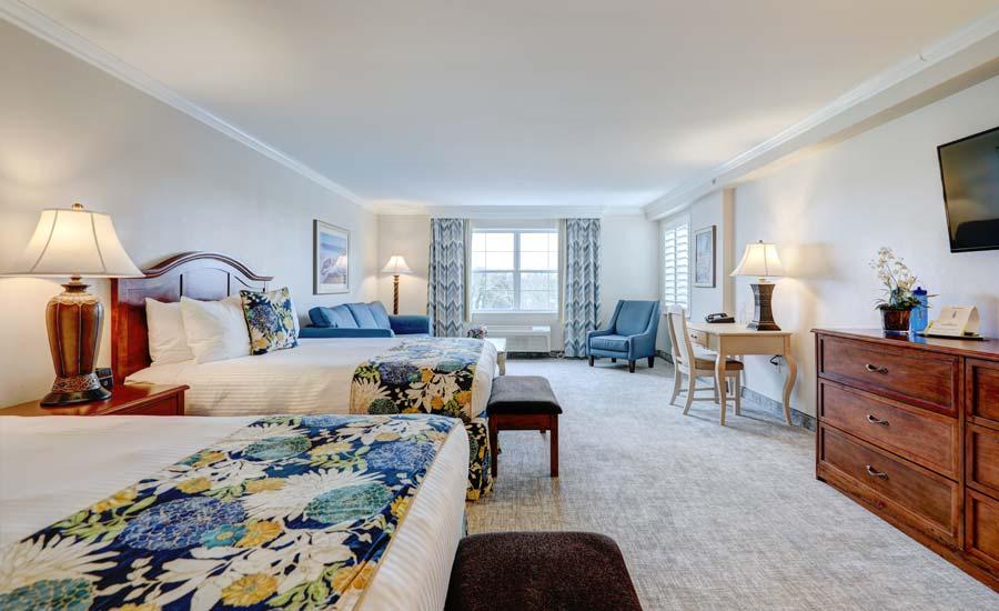 Suite-Sized Double Queen Hotel Room