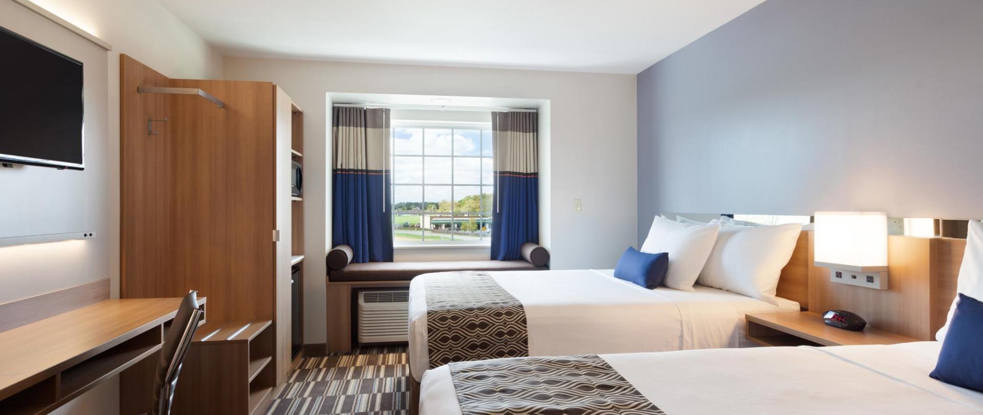 Double Queen Bed Hotel Room