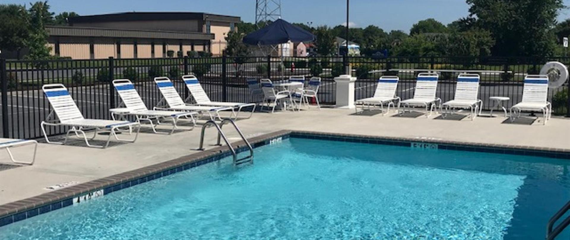 Hotel Outside Pool