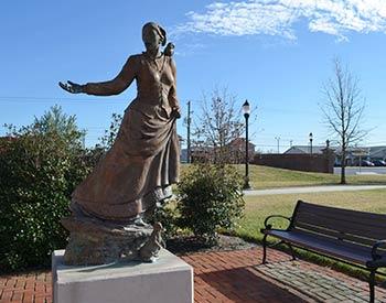 Harriet Tubman Statue & Historic Marker