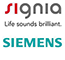 Signia Siemens Hearing Aid Logo