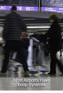 Hearing Loops at Airports