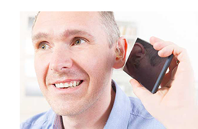 Oticon OPN™ in use with Smart Phone