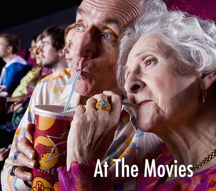 Test Hearing Aid while at the movies