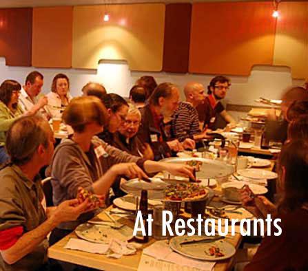 Test Hearing Aid in noisy restaurant