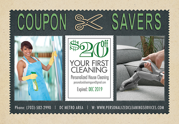 $20 Off First Cleaning with this Coupon