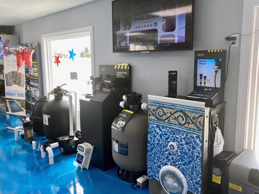 various pool filtration systems