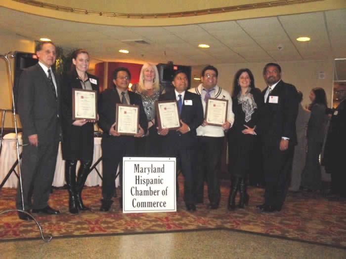 Maryland Hispanic Chamber of Commerce recognizes the Hispanic Business Center