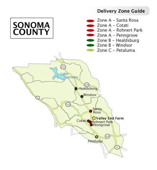 Shipping Zones Diagram