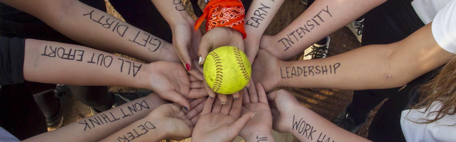 softball team leadership