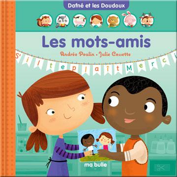 Vignette de la couverture de l'album Les mots-amis