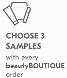 CHOOSE 3 SAMPLES WITH EVERY ORDER