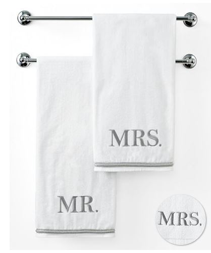 Black Friday Newlywed Deals | Mr and Mrs Towels