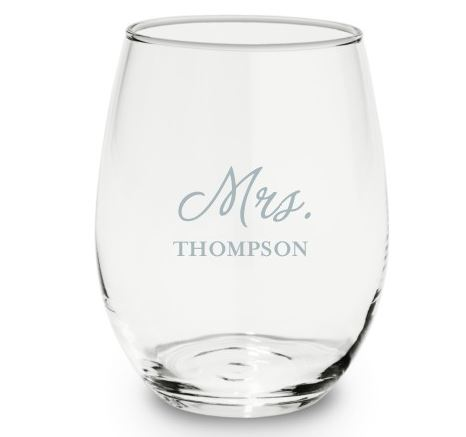 Newlywed Black Friday Deals |mrs wine glass