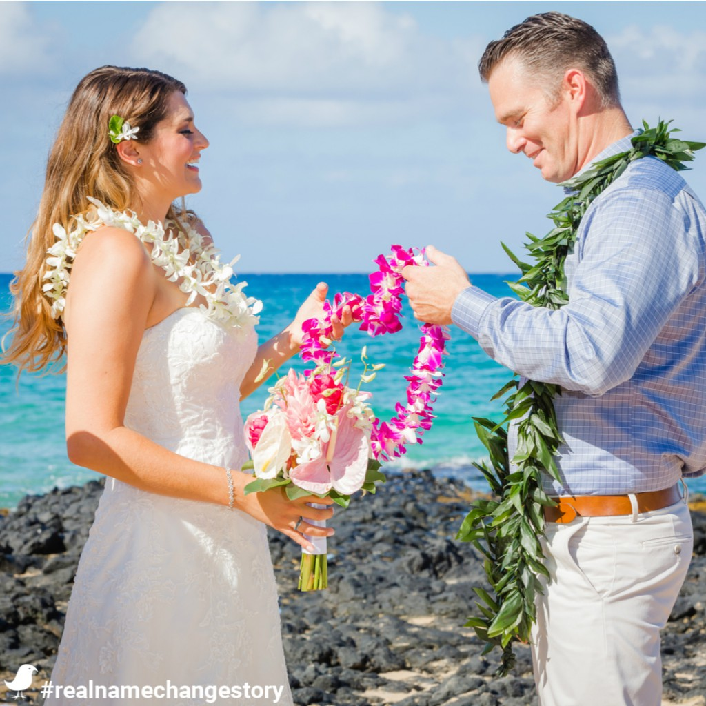 Brittany Newlywed Married Name Change