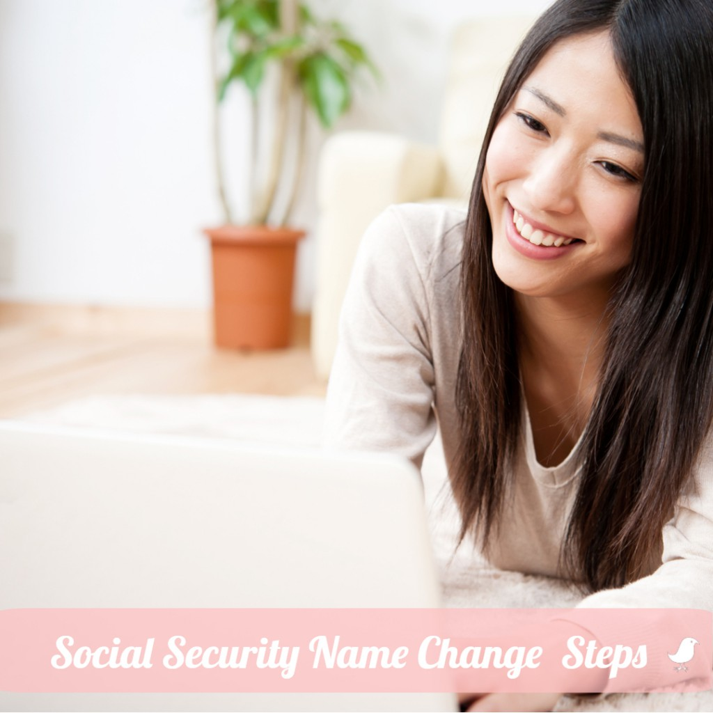 Social Security Name Change Steps