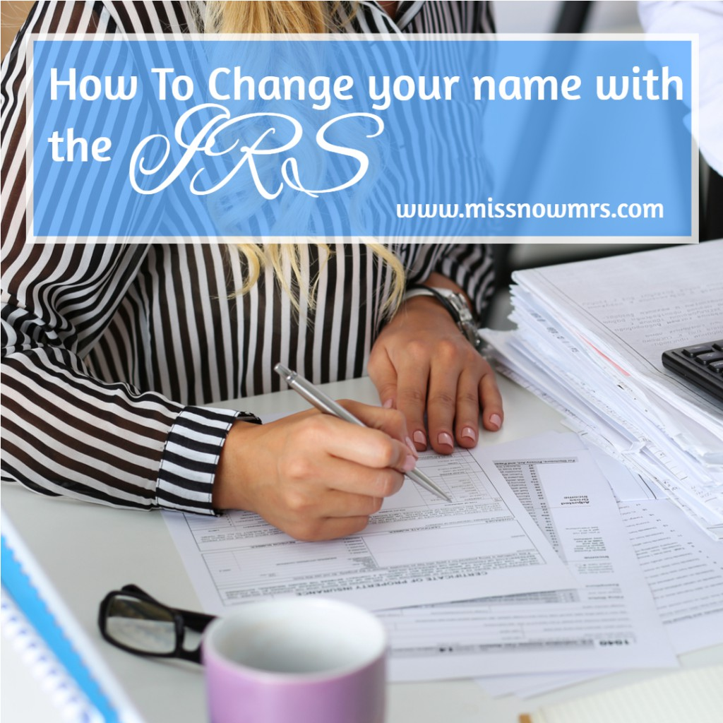 Form 8822 | How To Change Your Name with the IRS