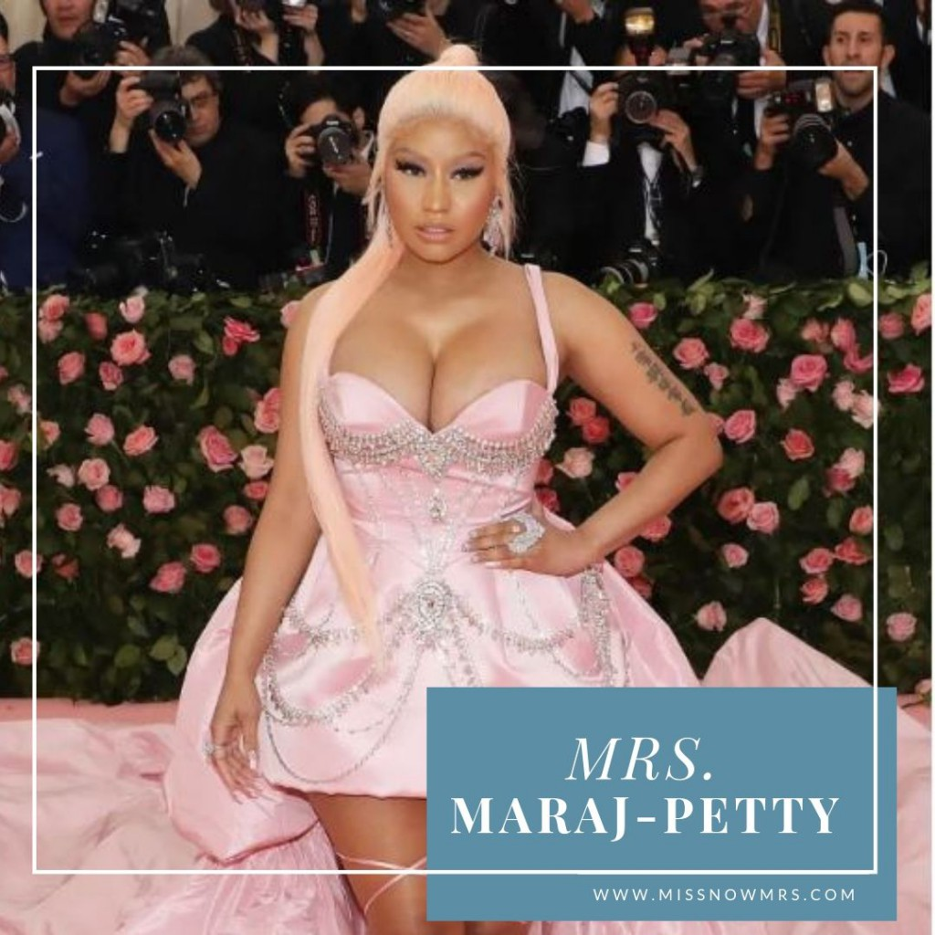 Nicki Minaj Married Name Change