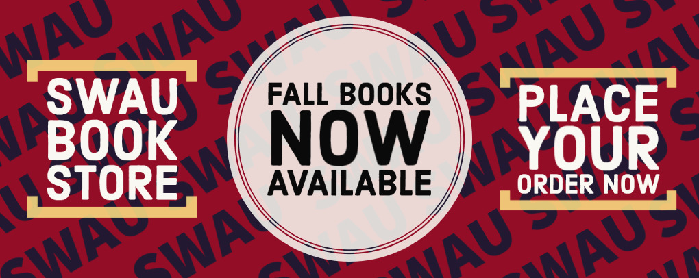 FALL 2021 TEXTBOOKS NOW AVAILABLE!!!