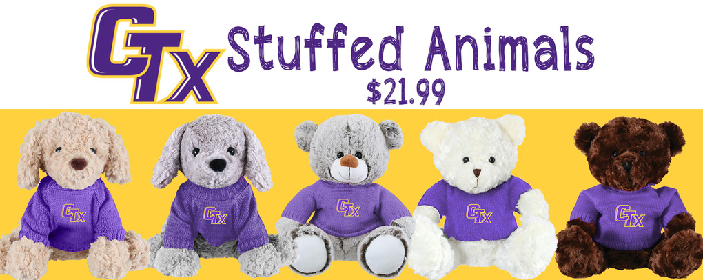 CTX Stuffed Animals at $21.99