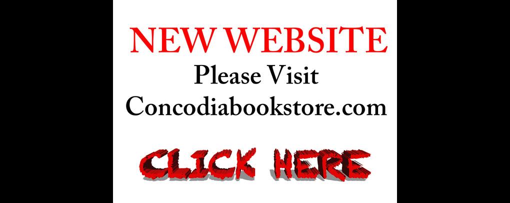 New Website Concordiabookstore.com