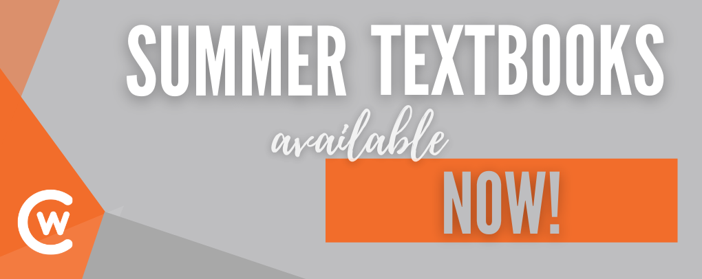 Summer Textbooks Now!