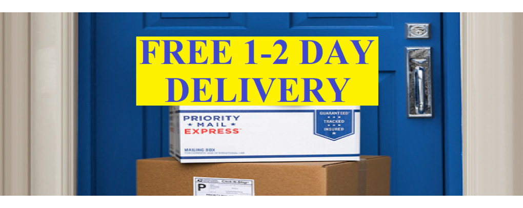 Free 1-2 day shipping