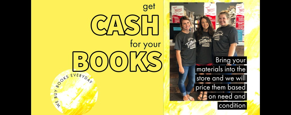 Cash for books everyday!