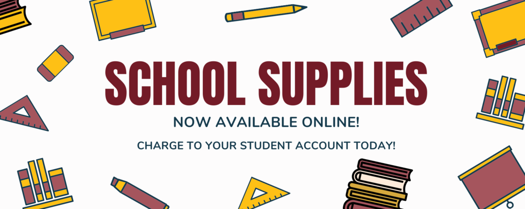 School supplies now online!