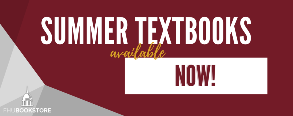 Summer textbooks available NOW