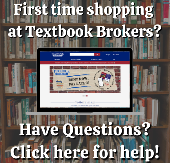 First time shopping at textbook brokers?  Click here for help!