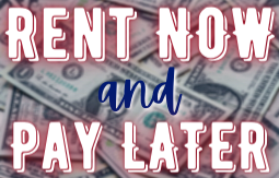 rent now and pay later