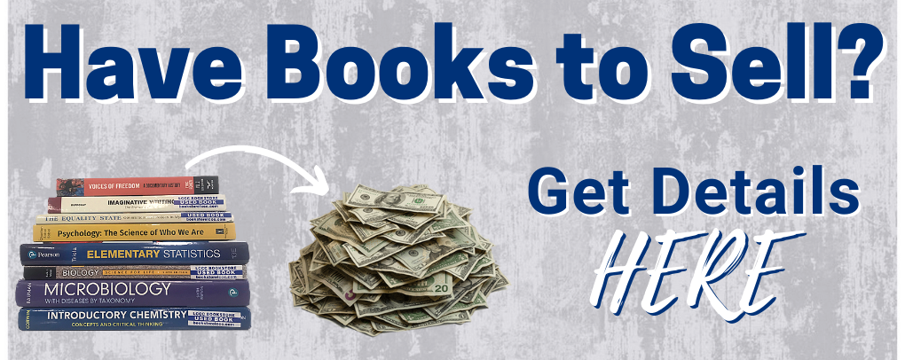 Have books to sell? Get details here!