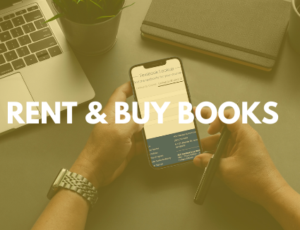 Buy or rent your books