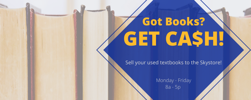 We buy your used textbooks!